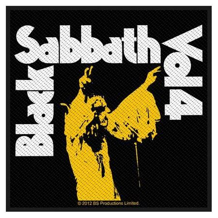 Black Sabbath Aufnäher Patch Sew-on Patch Vol 4
