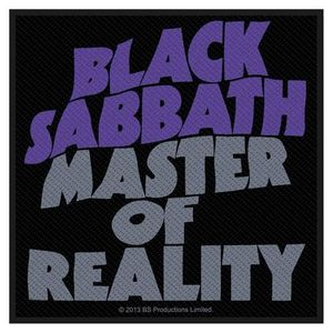 Black Sabbath Aufnäher Patch Sew-on Patch Master Of Reality 001
