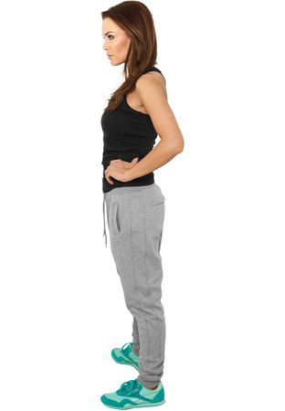 Urban Classics Ladies Deep Crotch Sweatpants in grau in Größe XS-XL – Bild 2