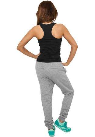 Urban Classics Ladies Deep Crotch Sweatpants in grau in Größe XS-XL – Bild 3