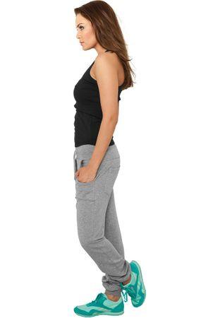 Urban Classics Ladies 5 Pocket Sweatpants in grau von Größe XS-XL – Bild 2