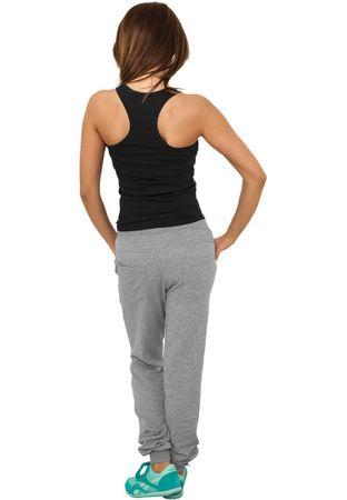 Urban Classics Ladies 5 Pocket Sweatpants in grau von Größe XS-XL – Bild 3