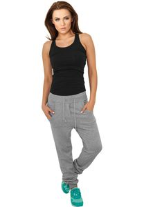 Urban Classics Ladies 5 Pocket Sweatpants in grau von Größe XS-XL 001