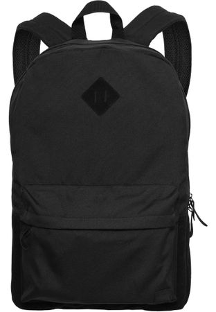 Urban Classics Basic Rucksack Backpack Leather Imitation schwarz – Bild 2