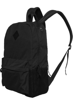 Urban Classics Basic Rucksack Backpack Leather Imitation schwarz
