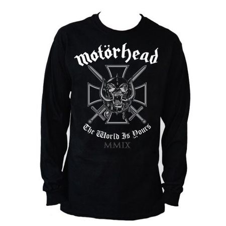 Motörhead Fan Longsleeves Iron Cross in S