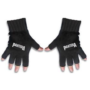 Pantera Fingerlose Gloves / Handschuhe Logo 001