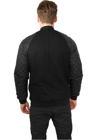 Urban Classics Diamond Nylon Wool Jacket in schwarz von S-2XL – Bild 3