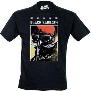 Black Sabbath T-Shirt Never Say Die in S 001