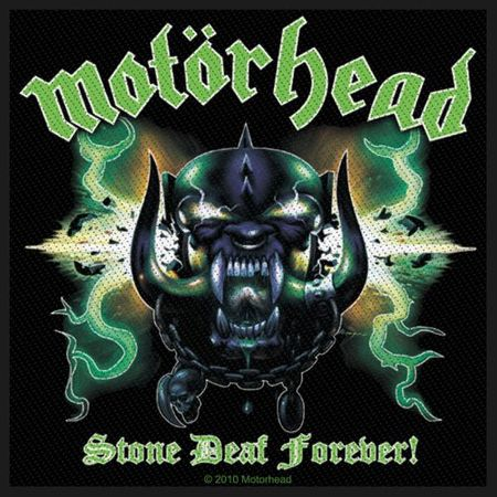 Motörhead Aufnäher Patch / Aufnäher Sew-on Patch Stone Deaf Forever