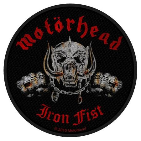Motörhead Aufnäher Patch / Aufnäher Sew-on Patch Iron Fist Skull