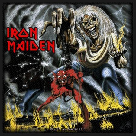 Iron Maiden Sew-on Patch / Aufnäher Number Of The Beast