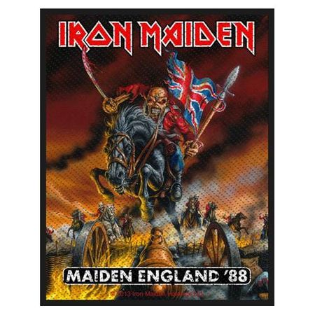 Iron Maiden Sew-on Patch / Aufnäher England