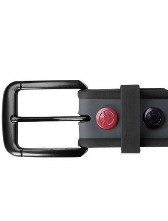 Masterdis Silicone Stud Belt Gürtel dunkelgrau in S/M & L/XL  – Bild 3