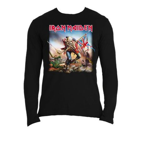 Iron Maiden Longsleeves Trooper in M, XL und 2XL