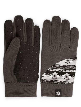 SUR Street Gloves Handschuhe in Ethno Chocolate – Bild 2