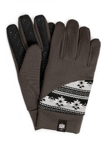 SUR Street Gloves Handschuhe in Ethno Chocolate – Bild 1