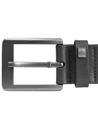 SUR Classic Hérault Belt / Gürtel in 2 Größen und 4cm Breite schwarz – Bild 3