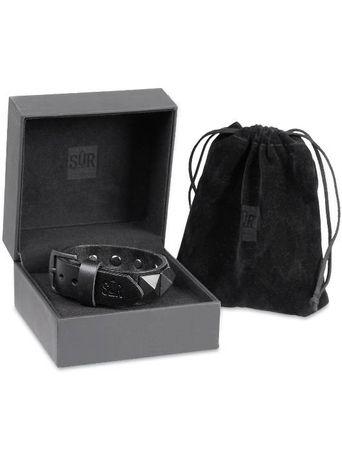 SUR Classic Chardon Bracelets / Lederarmband in schwarz – Bild 3