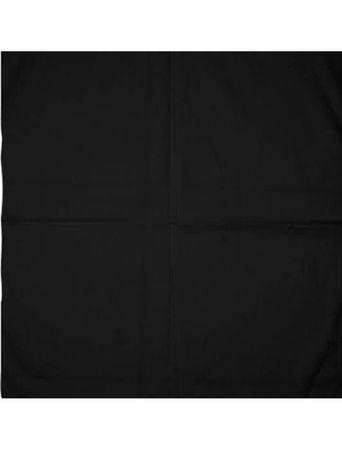 Masterdis Blank Unicolour Bandana in schwarz