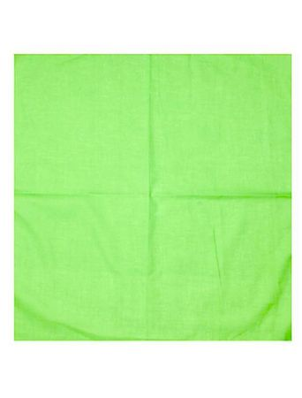Masterdis Blank Unicolour Bandana in lime
