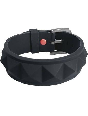 C3 Silicone Bracelets / Armband in schwarz – Bild 1
