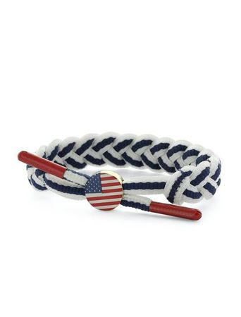 C3 World Pack Bracelet / Armband USA weiß-navy
