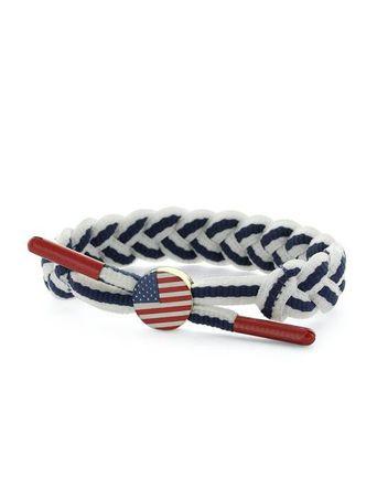C3 World Pack Bracelet / Armband USA weiß-navy