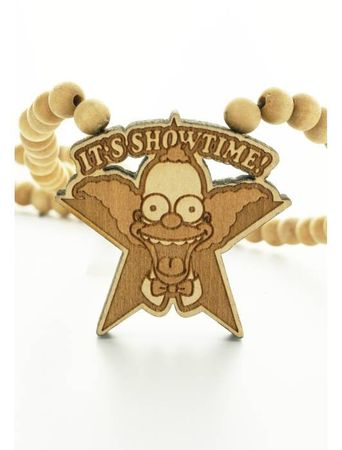 Wood Fellas Necklaces Halskette Simpsons Krusty Logo – Bild 2