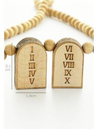 Wood Fellas Halskette / Necklaces 10 Commandments – Bild 2