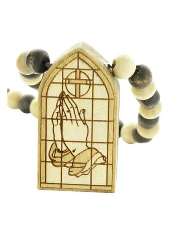 Wood Fellas Halskette / Necklaces Modell Praying Window – Bild 3