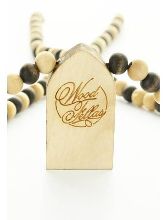 Wood Fellas Halskette / Necklaces Modell Praying Window – Bild 4