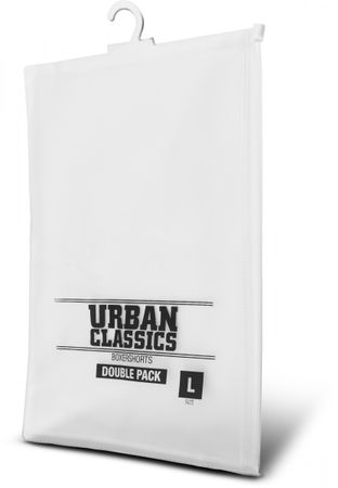 Urban Classics Mens Boxer Shorts 2er Pack in grau von S-XL – Bild 3