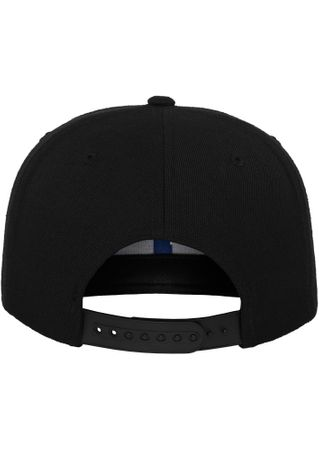 Flexfit Bandana Snapback Baseball Cap in schwarz-royal – Bild 5