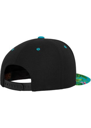 Flexfit Hawaiian Snapback Baseball Cap in aqua – Bild 4