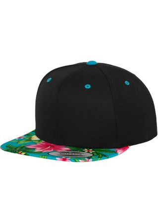 Flexfit Hawaiian Snapback Baseball Cap in aqua – Bild 1