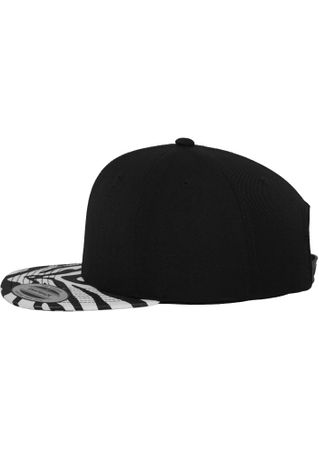 Flexfit Animal Snapback Cap in Zebra  – Bild 2