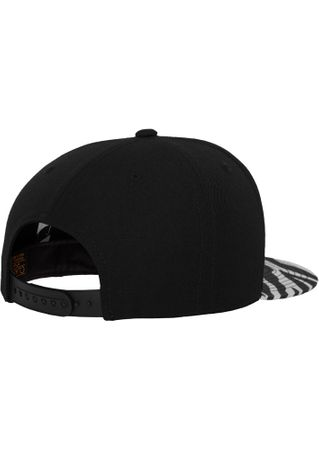 Flexfit Animal Snapback Cap in Zebra  – Bild 4