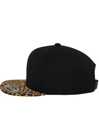 Flexfit Animal Snapback Cap in Leopard – Bild 2