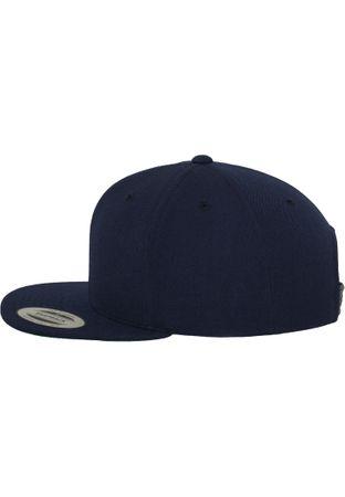 Flexfit / Yupoong Classic Snapback Cap in navy – Bild 3