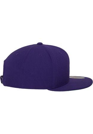 Flexfit / Yupoong Classic Snapback Cap in lila – Bild 3