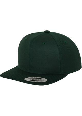 Flexfit / Yupoong Classic Snapback Cap in spurce – Bild 1