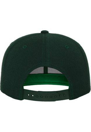 Flexfit / Yupoong Classic Snapback Cap in spurce – Bild 7