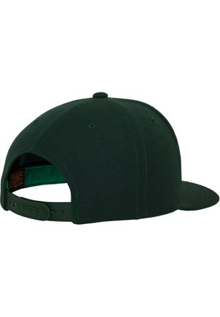 Flexfit / Yupoong Classic Snapback Cap in spurce – Bild 6