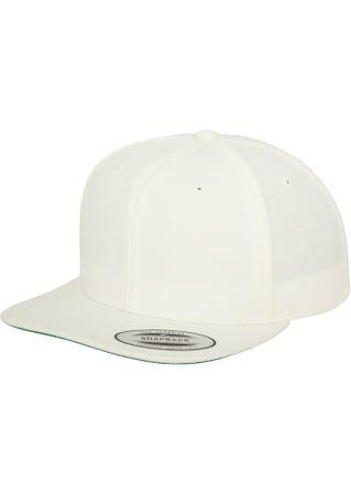 Flexfit / Yupoong Classic Snapback Cap in weiß – Bild 1