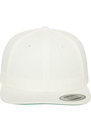Flexfit / Yupoong Classic Snapback Cap in weiß – Bild 2