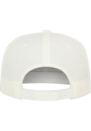 Flexfit / Yupoong Classic Snapback Cap in weiß – Bild 7