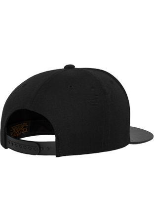 Flexfit Carbon Snapback Cap in schwarz – Bild 5