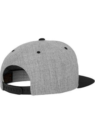 Flexfit / Yupoong Classic Snapback 2-Tone Cap in grau-schwarz – Bild 6