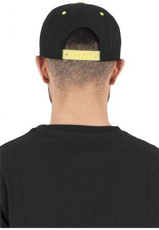 Flexfit / Yupoong Classic Snapback 2-Tone Cap in schwarz-neongelb – Bild 2